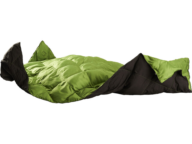 Nordisk Ekeblad Couverture de survie Leisure, peridot green/black